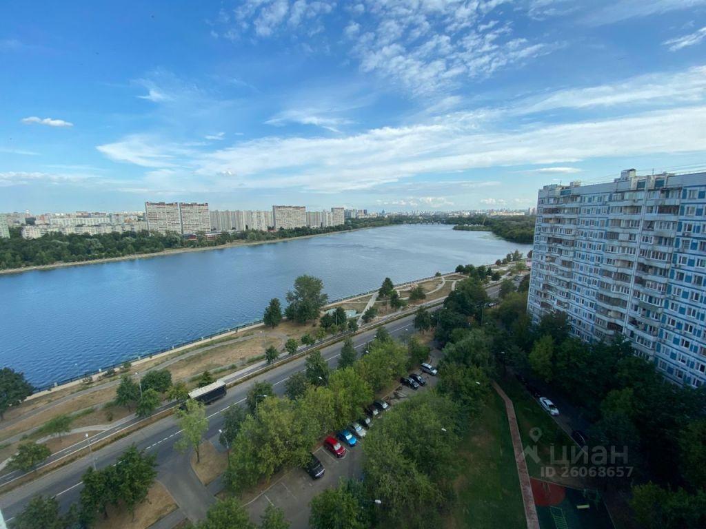 Аренда однокомнатной квартиры Москва, метро Коломенская, Коломенская набережная 6, цена 40000 рублей, 2021 год объявление №1431296 на megabaz.ru
