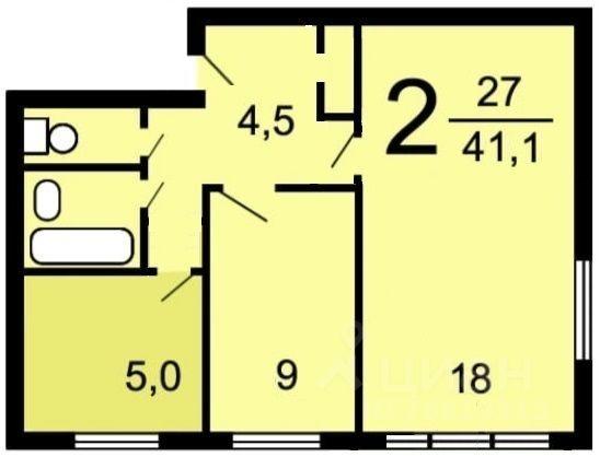 Продажа двухкомнатной квартиры Москва, метро Измайловская, 3-я Прядильная улица 18А, цена 9200000 рублей, 2021 год объявление №660365 на megabaz.ru