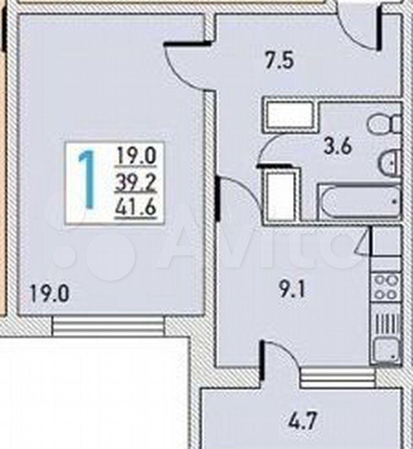 Аренда однокомнатной квартиры Ивантеевка, улица Дзержинского 8к1, цена 20000 рублей, 2021 год объявление №1431750 на megabaz.ru