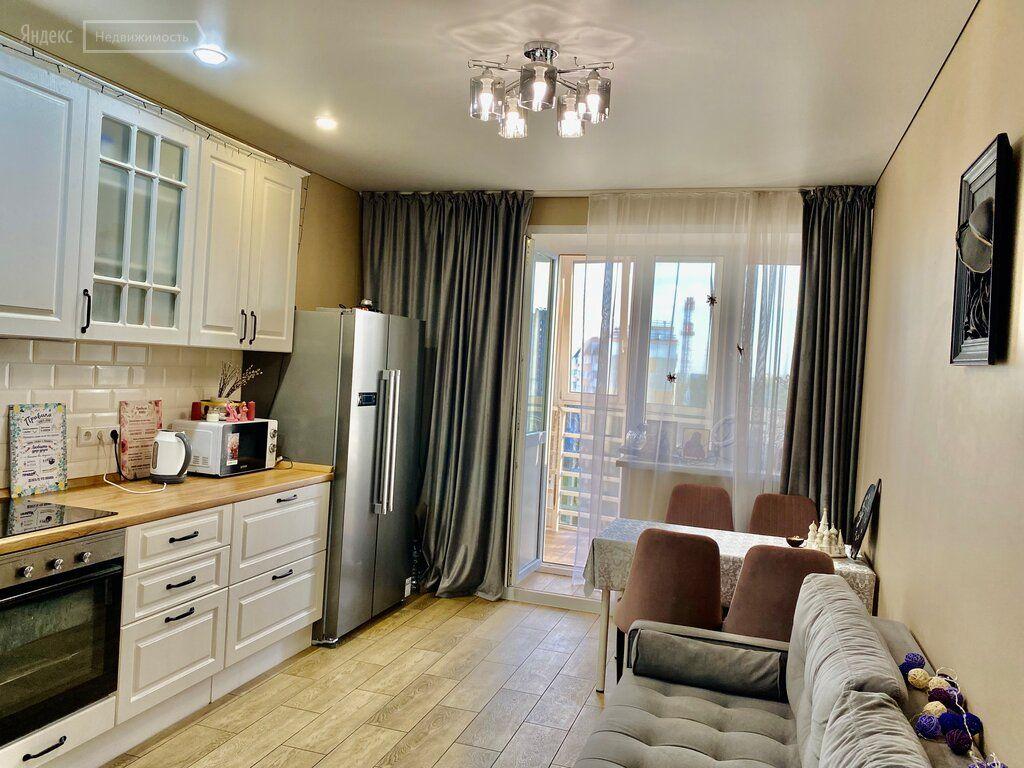 Продажа двухкомнатной квартиры Домодедово, улица Гагарина 49, цена 9850000 рублей, 2021 год объявление №662012 на megabaz.ru
