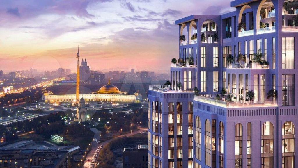 Продажа трёхкомнатной квартиры Москва, метро Парк Победы, цена 42968008 рублей, 2021 год объявление №660755 на megabaz.ru