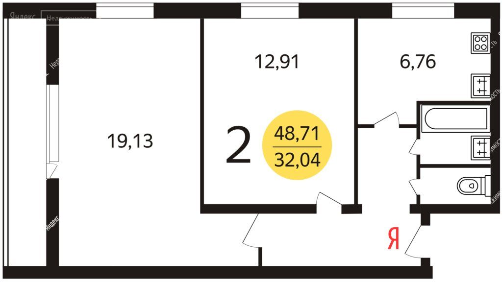 Продажа двухкомнатной квартиры Москва, метро Юго-Западная, улица 26 Бакинских Комиссаров 6к1, цена 12500000 рублей, 2021 год объявление №686343 на megabaz.ru