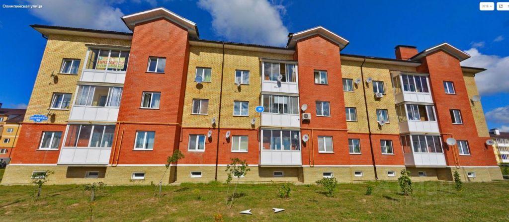 Продажа однокомнатной квартиры село Верзилово, Олимпийская улица 30, цена 2500000 рублей, 2021 год объявление №663407 на megabaz.ru