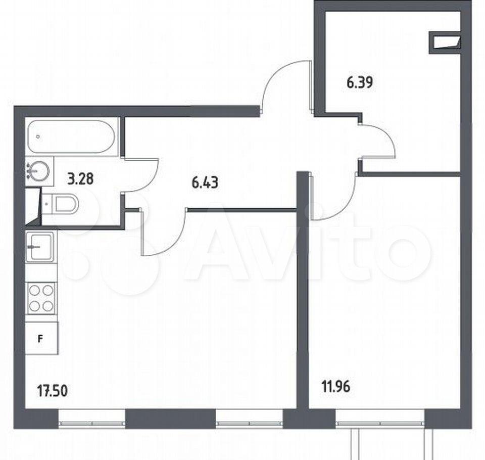 Продажа двухкомнатной квартиры поселок Жилино-1, цена 5700000 рублей, 2021 год объявление №708952 на megabaz.ru