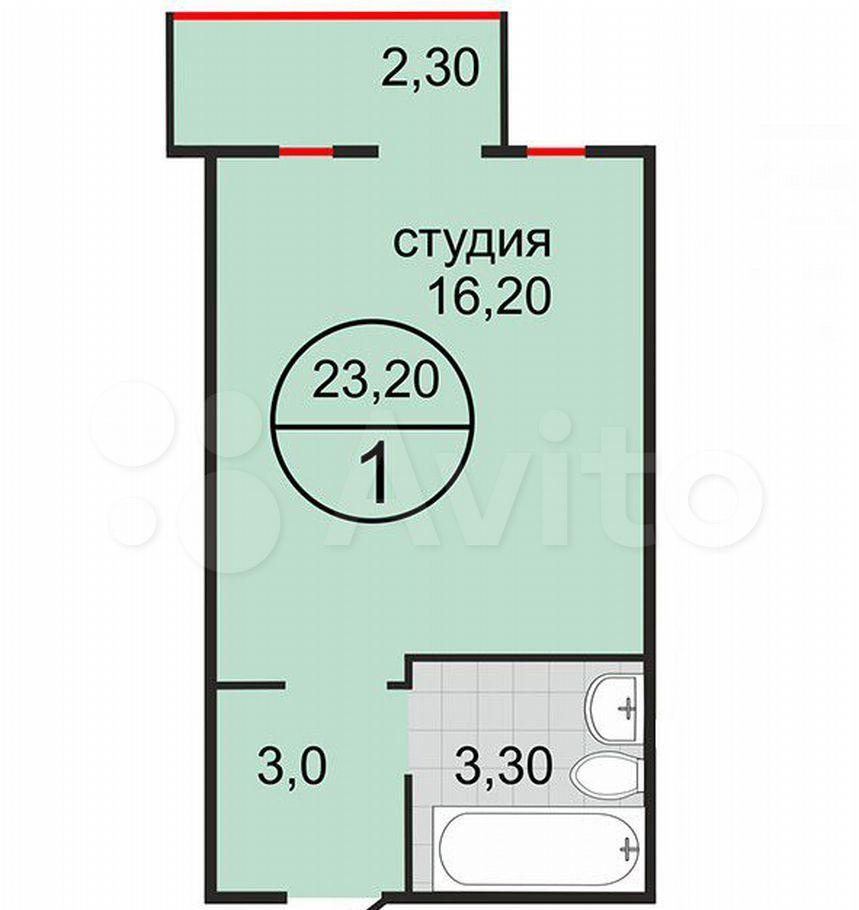 Продажа студии Балашиха, метро Щелковская, цена 2600000 рублей, 2021 год объявление №699458 на megabaz.ru