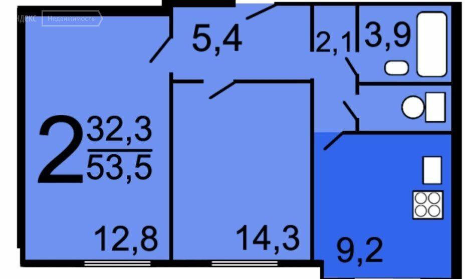 Продажа двухкомнатной квартиры Москва, метро Жулебино, улица Маршала Полубоярова 4к2, цена 12000000 рублей, 2021 год объявление №661363 на megabaz.ru