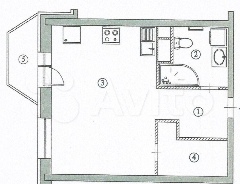 Продажа однокомнатной квартиры Апрелевка, Ясная улица 5, цена 6100000 рублей, 2021 год объявление №662117 на megabaz.ru