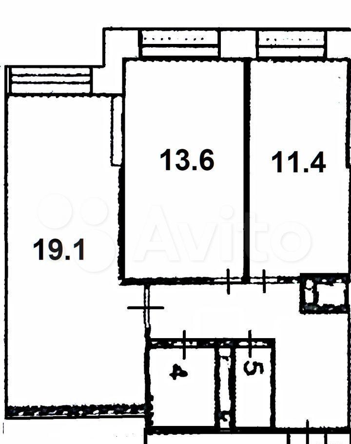 Продажа двухкомнатной квартиры Москва, метро Международная, Мукомольный проезд 2, цена 19300000 рублей, 2021 год объявление №662126 на megabaz.ru