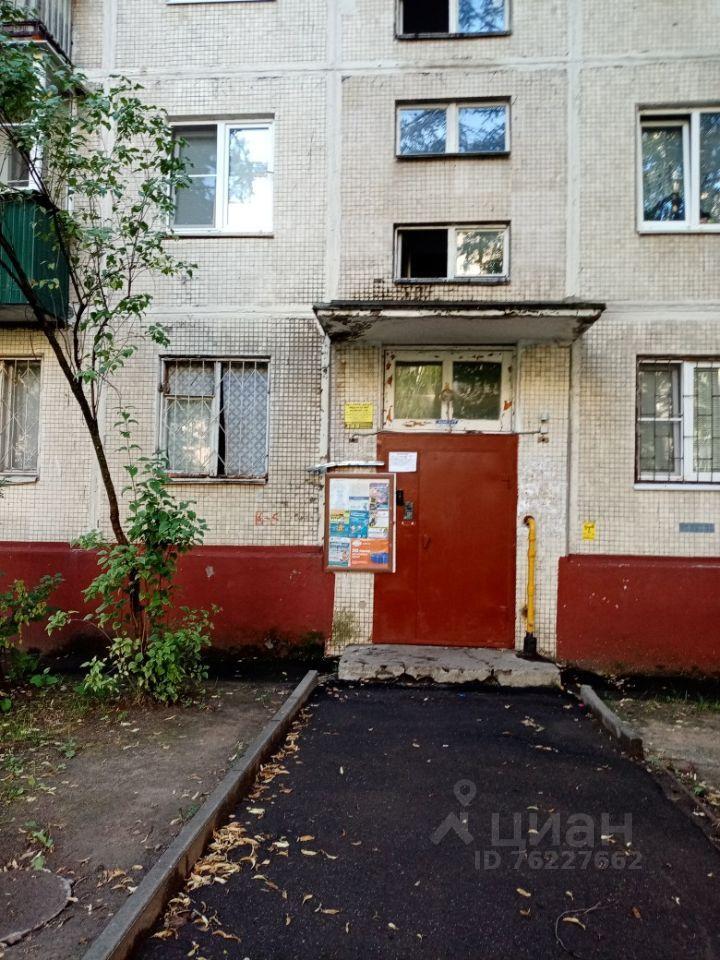 Продажа двухкомнатной квартиры Фрязино, проспект Мира 4к1, цена 4370000 рублей, 2021 год объявление №654035 на megabaz.ru