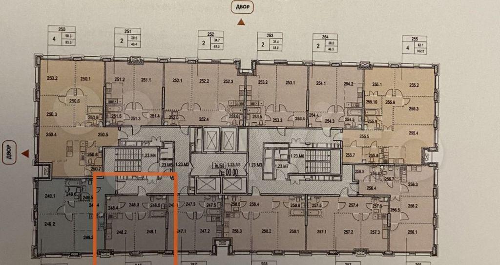 Продажа однокомнатной квартиры Москва, метро Калужская, цена 14500000 рублей, 2021 год объявление №662947 на megabaz.ru