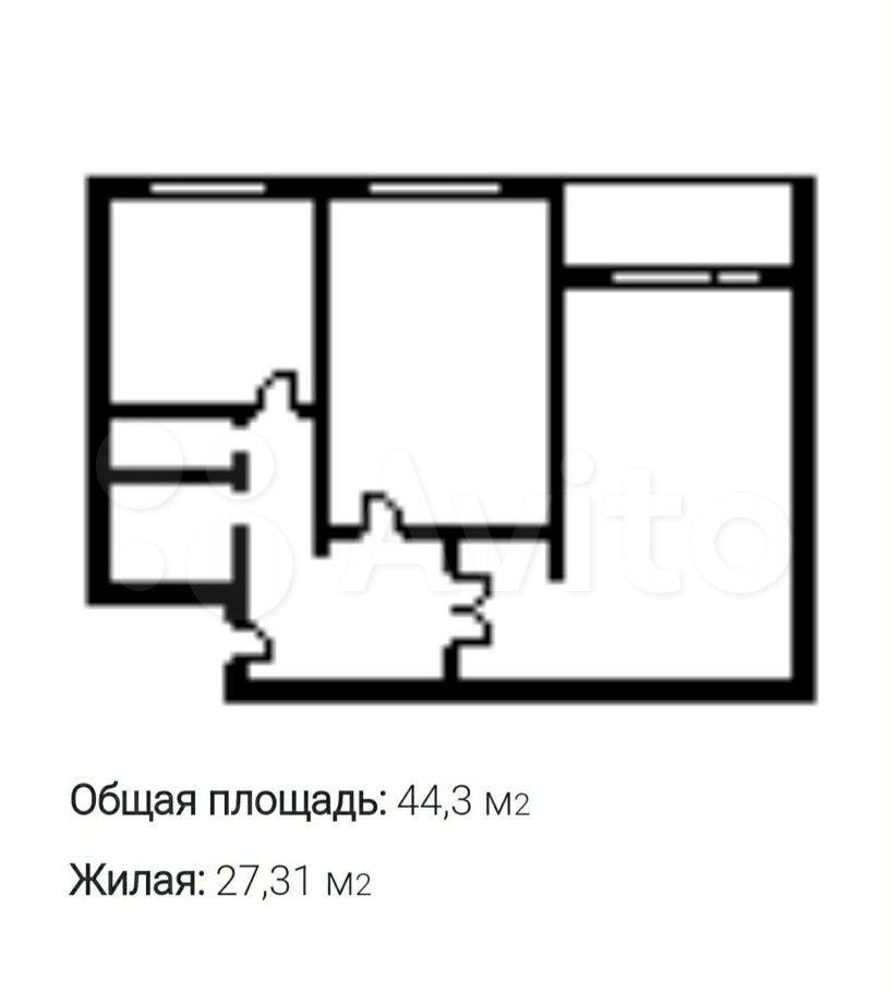 Аренда двухкомнатной квартиры Москва, метро Новогиреево, шоссе Энтузиастов 94к4, цена 36000 рублей, 2021 год объявление №1434072 на megabaz.ru