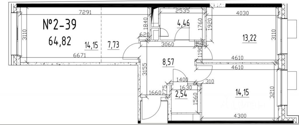 Продажа двухкомнатной квартиры Москва, метро Каширская, 2-й Котляковский переулок 2Ас2, цена 17500000 рублей, 2021 год объявление №664089 на megabaz.ru