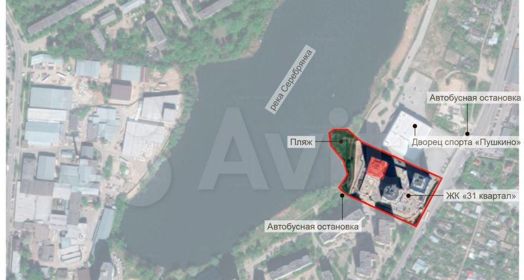 Аренда студии Пушкино, Ярославское шоссе 141к2, цена 30000 рублей, 2021 год объявление №1434041 на megabaz.ru