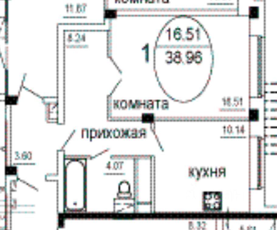 Продажа однокомнатной квартиры поселок Аничково, метро Щелковская, цена 3500000 рублей, 2021 год объявление №664858 на megabaz.ru