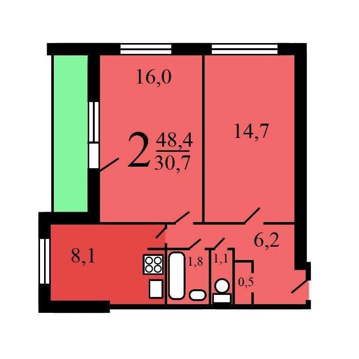 Продажа двухкомнатной квартиры Москва, метро Динамо, Беговая аллея 7к2, цена 13500000 рублей, 2020 год объявление №382730 на megabaz.ru