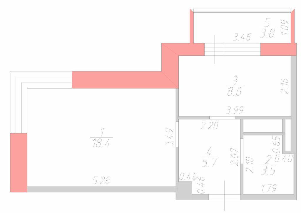 Продажа однокомнатной квартиры деревня Исаково, Рябиновая улица 11к1, цена 4600000 рублей, 2021 год объявление №382825 на megabaz.ru