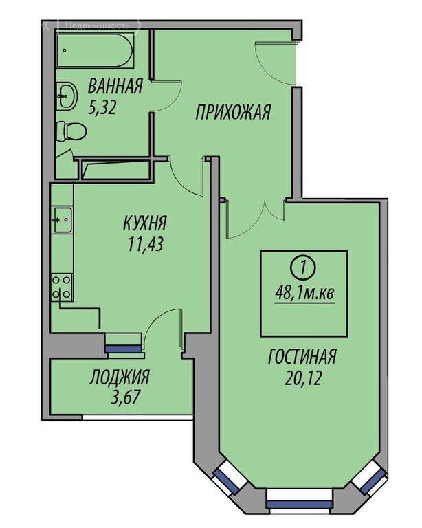 Продажа однокомнатной квартиры деревня Федурново, метро Новокосино, улица Авиарембаза 12, цена 4800000 рублей, 2021 год объявление №665280 на megabaz.ru