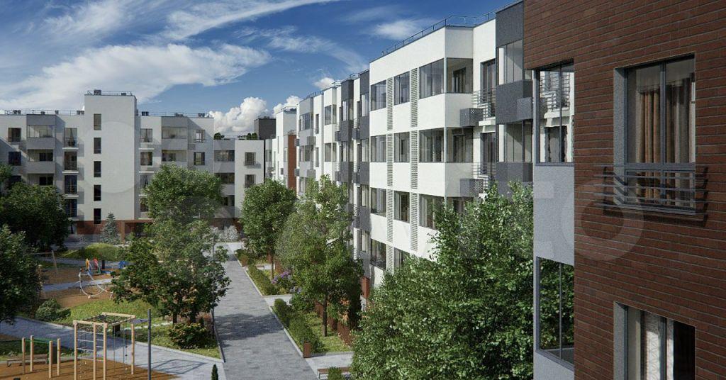 Продажа однокомнатной квартиры село Перхушково, цена 3150000 рублей, 2021 год объявление №667213 на megabaz.ru