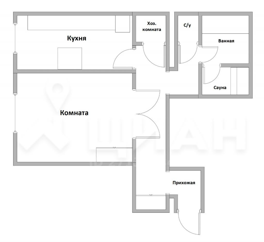 Продажа однокомнатной квартиры Москва, метро Каширская, Старокаширское шоссе 2к6, цена 9600000 рублей, 2021 год объявление №350677 на megabaz.ru
