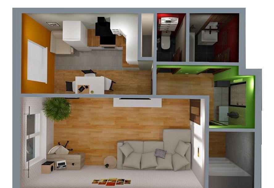 Продажа однокомнатной квартиры Домодедово, метро Бульвар адмирала Ушакова, цена 2250000 рублей, 2021 год объявление №383322 на megabaz.ru