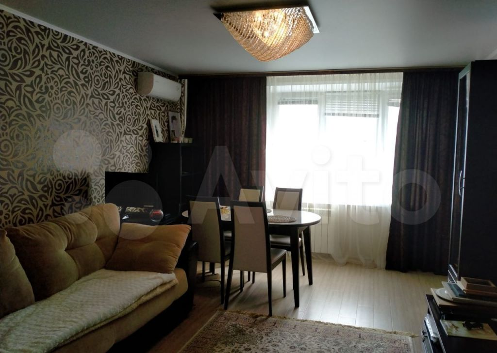 Продажа трёхкомнатной квартиры поселок Масловский, Клубная улица 8, цена 3580000 рублей, 2021 год объявление №670554 на megabaz.ru