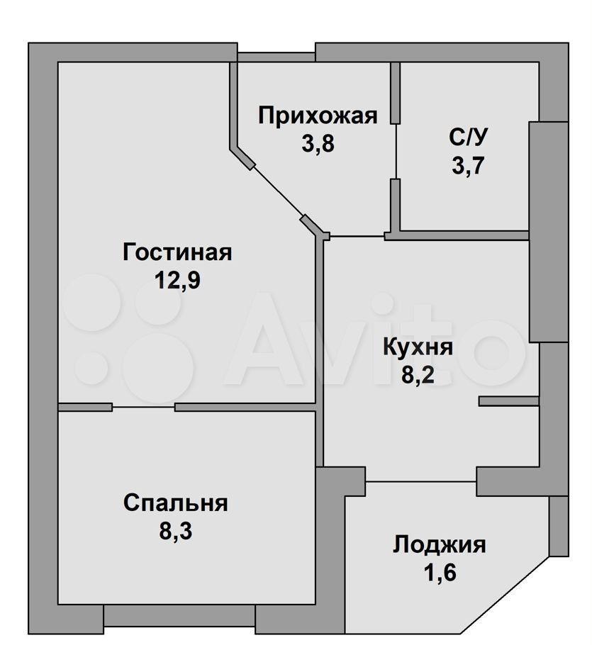 Продажа двухкомнатной квартиры деревня Лобаново, Новая улица 15, цена 6000000 рублей, 2021 год объявление №671501 на megabaz.ru
