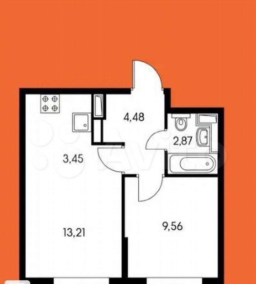 Продажа двухкомнатной квартиры поселок Ильинское-Усово, Заповедная улица 5, цена 6000000 рублей, 2021 год объявление №679715 на megabaz.ru