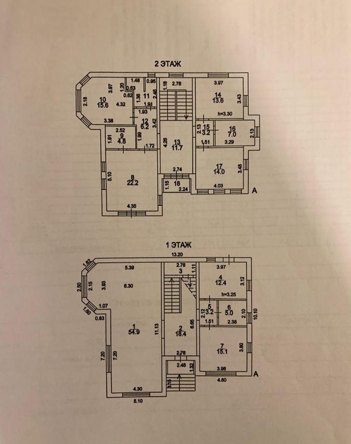 Продажа дома поселок Вешки, улица 6-я Линия, цена 25700000 рублей, 2020 год объявление №393821 на megabaz.ru