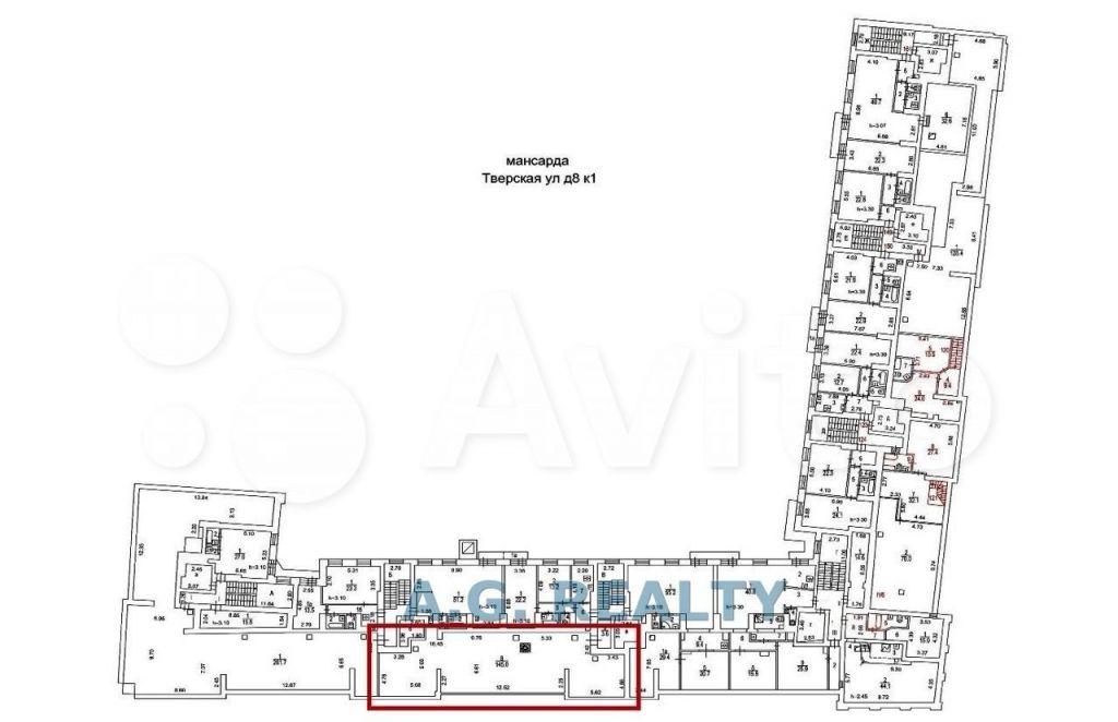 Продажа четырёхкомнатной квартиры Москва, метро Тверская, Тверская улица 8к1, цена 36800000 рублей, 2021 год объявление №676015 на megabaz.ru