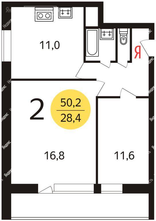 Продажа двухкомнатной квартиры Москва, метро Черкизовская, Большая Черкизовская улица 22к1, цена 15200000 рублей, 2021 год объявление №676566 на megabaz.ru