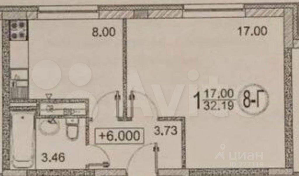 Продажа однокомнатной квартиры деревня Солманово, улица Дюма 33, цена 4800000 рублей, 2021 год объявление №678943 на megabaz.ru