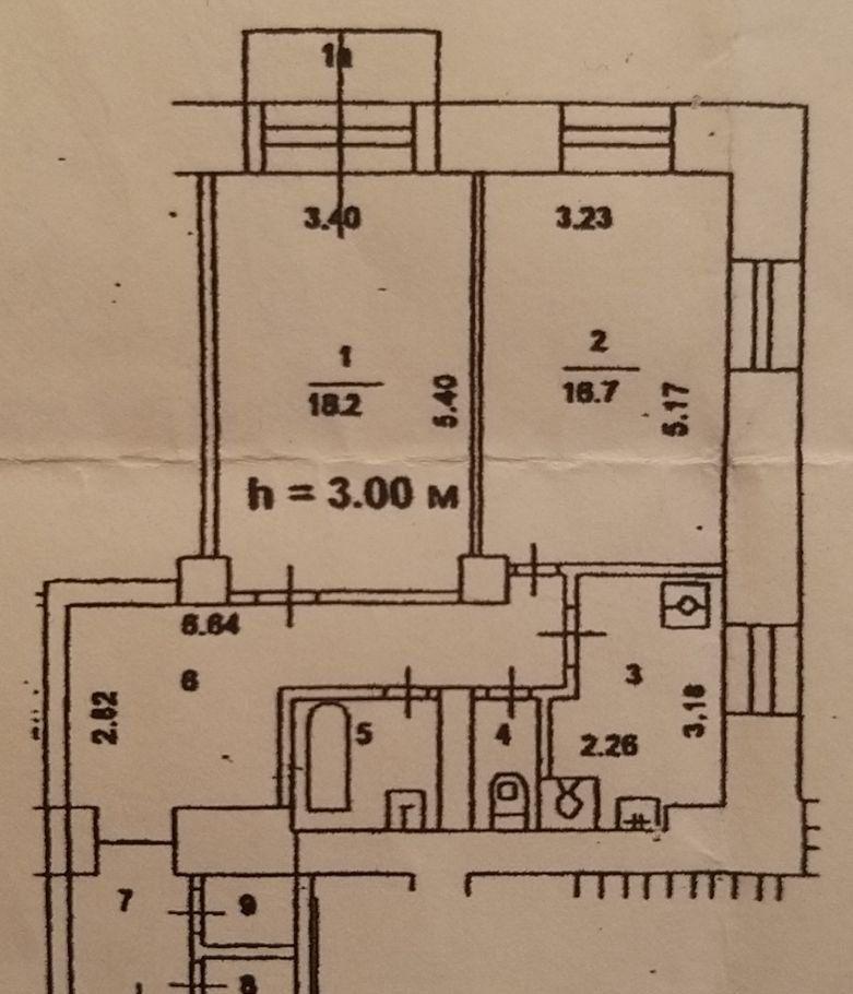 Продажа двухкомнатной квартиры Москва, метро Автозаводская, Автозаводская улица 6, цена 17000000 рублей, 2021 год объявление №405394 на megabaz.ru