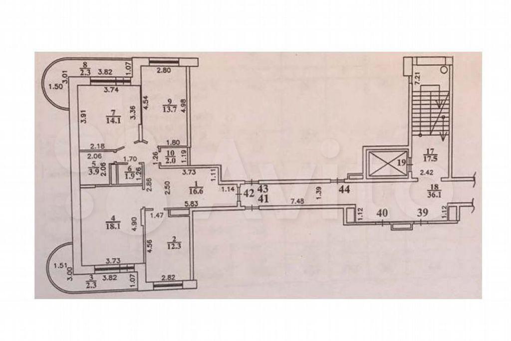Продажа трёхкомнатной квартиры рабочий посёлок Правдинский, 1-я Проектная улица 88к1, цена 9100000 рублей, 2021 год объявление №680225 на megabaz.ru