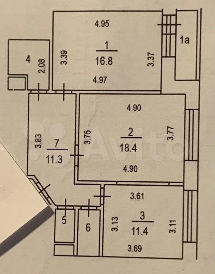 Продажа двухкомнатной квартиры Москва, метро Сокольники, Большая Остроумовская улица 10к2, цена 23500000 рублей, 2021 год объявление №679994 на megabaz.ru