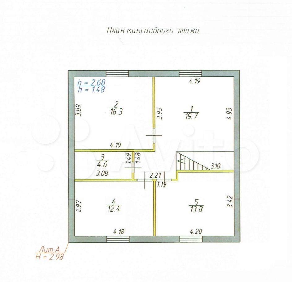 Продажа дома село Речицы, цена 5600000 рублей, 2021 год объявление №692300 на megabaz.ru