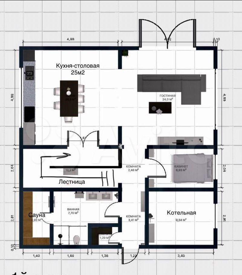 Продажа дома деревня Нефедьево, цена 11200000 рублей, 2021 год объявление №656576 на megabaz.ru