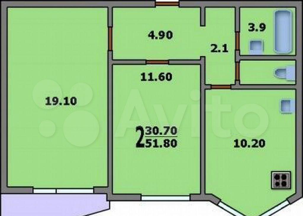 Продажа двухкомнатной квартиры Москва, метро Римская, улица Рогожский Вал 13к2, цена 19000000 рублей, 2021 год объявление №682326 на megabaz.ru