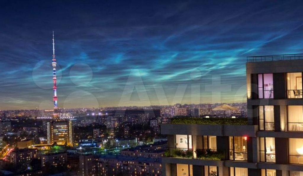 Продажа однокомнатной квартиры Москва, метро Алексеевская, цена 15120000 рублей, 2021 год объявление №684716 на megabaz.ru