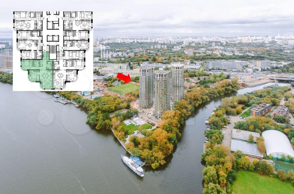 Продажа трёхкомнатной квартиры Москва, метро Тушинская, цена 26850000 рублей, 2021 год объявление №702167 на megabaz.ru