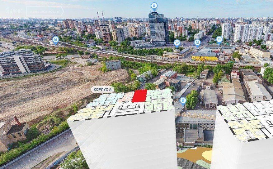 Продажа студии Москва, метро Площадь Ильича, цена 9700000 рублей, 2021 год объявление №683602 на megabaz.ru
