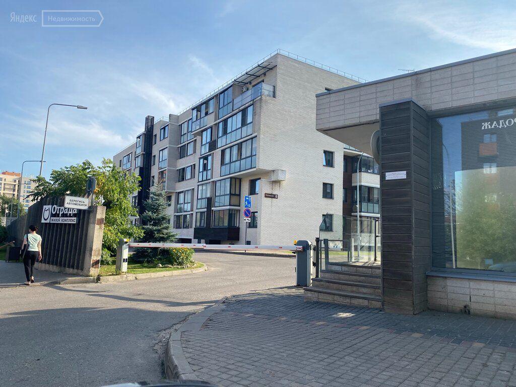 Продажа однокомнатной квартиры поселок Отрадное, метро Пятницкое шоссе, Пятницкая улица 6, цена 9900000 рублей, 2021 год объявление №697334 на megabaz.ru