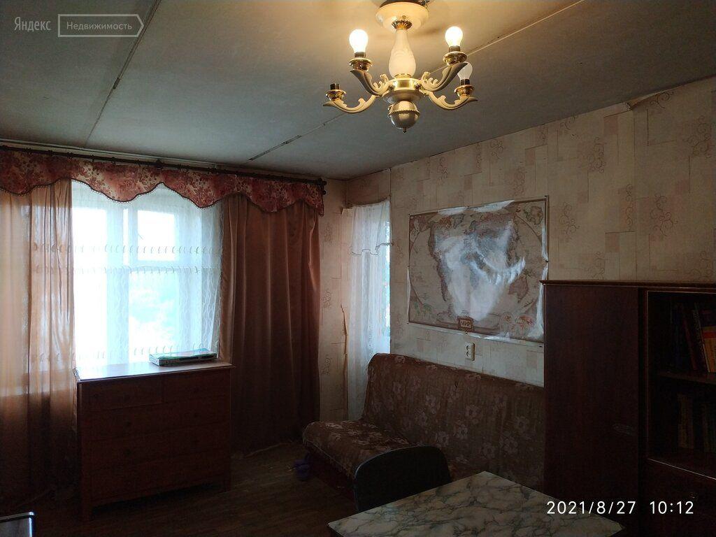 Продажа однокомнатной квартиры Лобня, улица Ленина 19к2, цена 5700000 рублей, 2021 год объявление №693672 на megabaz.ru