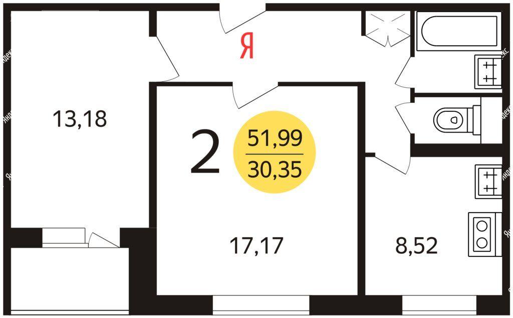 Продажа двухкомнатной квартиры Москва, метро Шипиловская, улица Мусы Джалиля 10к1, цена 11000000 рублей, 2021 год объявление №686159 на megabaz.ru