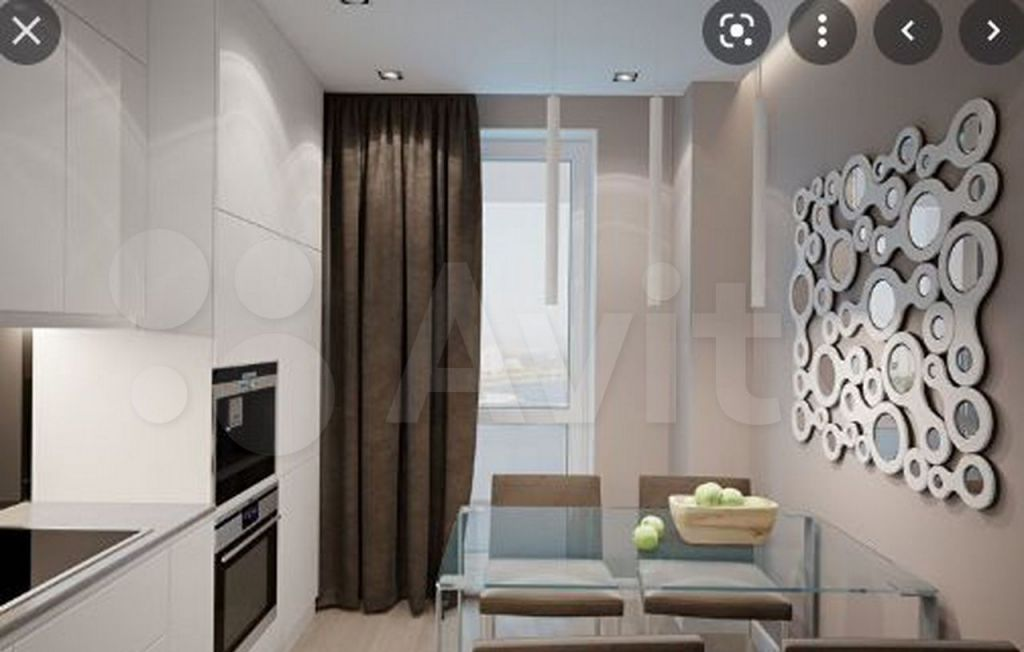 Продажа однокомнатной квартиры рабочий поселок Новоивановское, бульвар Эйнштейна 4, цена 5325000 рублей, 2021 год объявление №707971 на megabaz.ru