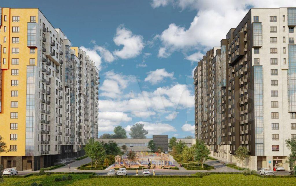 Продажа однокомнатной квартиры село Воскресенское, цена 5050000 рублей, 2021 год объявление №687143 на megabaz.ru