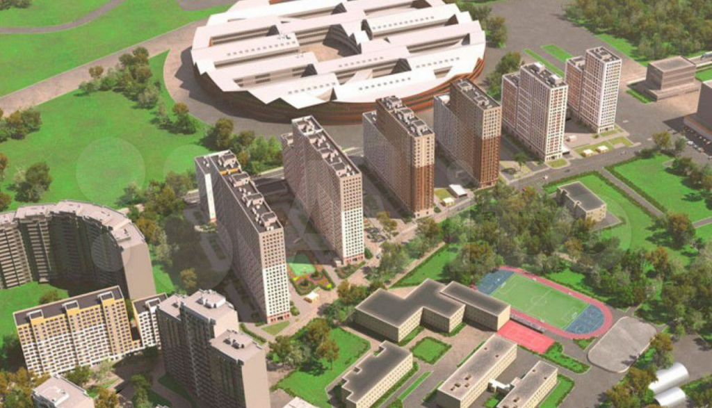 Продажа двухкомнатной квартиры рабочий поселок Новоивановское, бульвар Эйнштейна 3, цена 8601999 рублей, 2021 год объявление №706697 на megabaz.ru