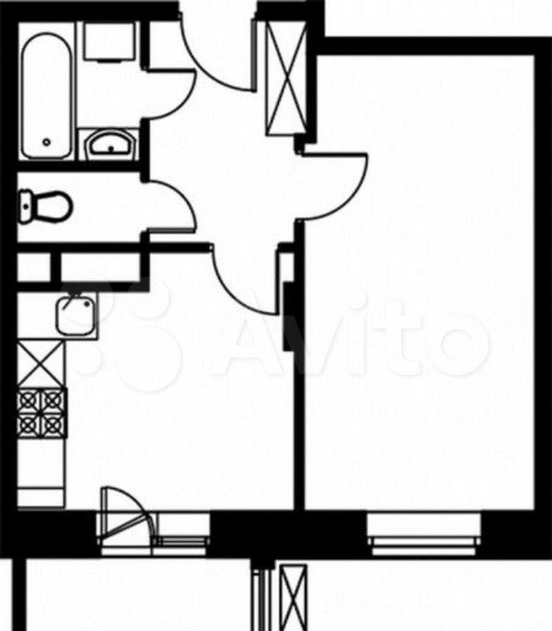 Продажа однокомнатной квартиры село Николо-Урюпино, цена 4400000 рублей, 2021 год объявление №689229 на megabaz.ru
