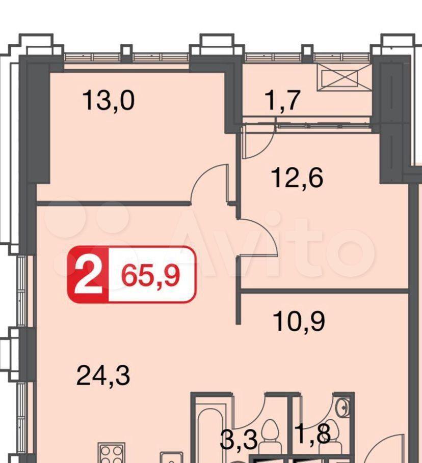 Продажа трёхкомнатной квартиры Москва, метро Дмитровская, цена 18600000 рублей, 2021 год объявление №688960 на megabaz.ru