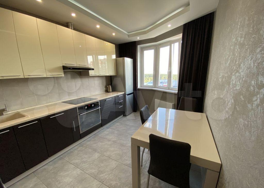Аренда однокомнатной квартиры деревня Сапроново, цена 30000 рублей, 2021 год объявление №1465596 на megabaz.ru