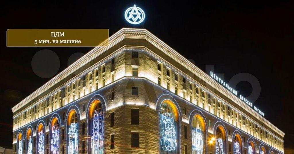Продажа четырёхкомнатной квартиры Москва, метро Чкаловская, Подсосенский переулок 8с3, цена 41000000 рублей, 2021 год объявление №648598 на megabaz.ru